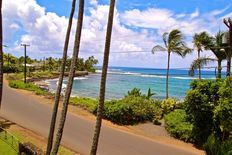 Step onto the lanai and see how close the ocean is!