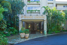The welcoming front entrance Kauai, Poipu Beach, oceanfront, vacation rental
